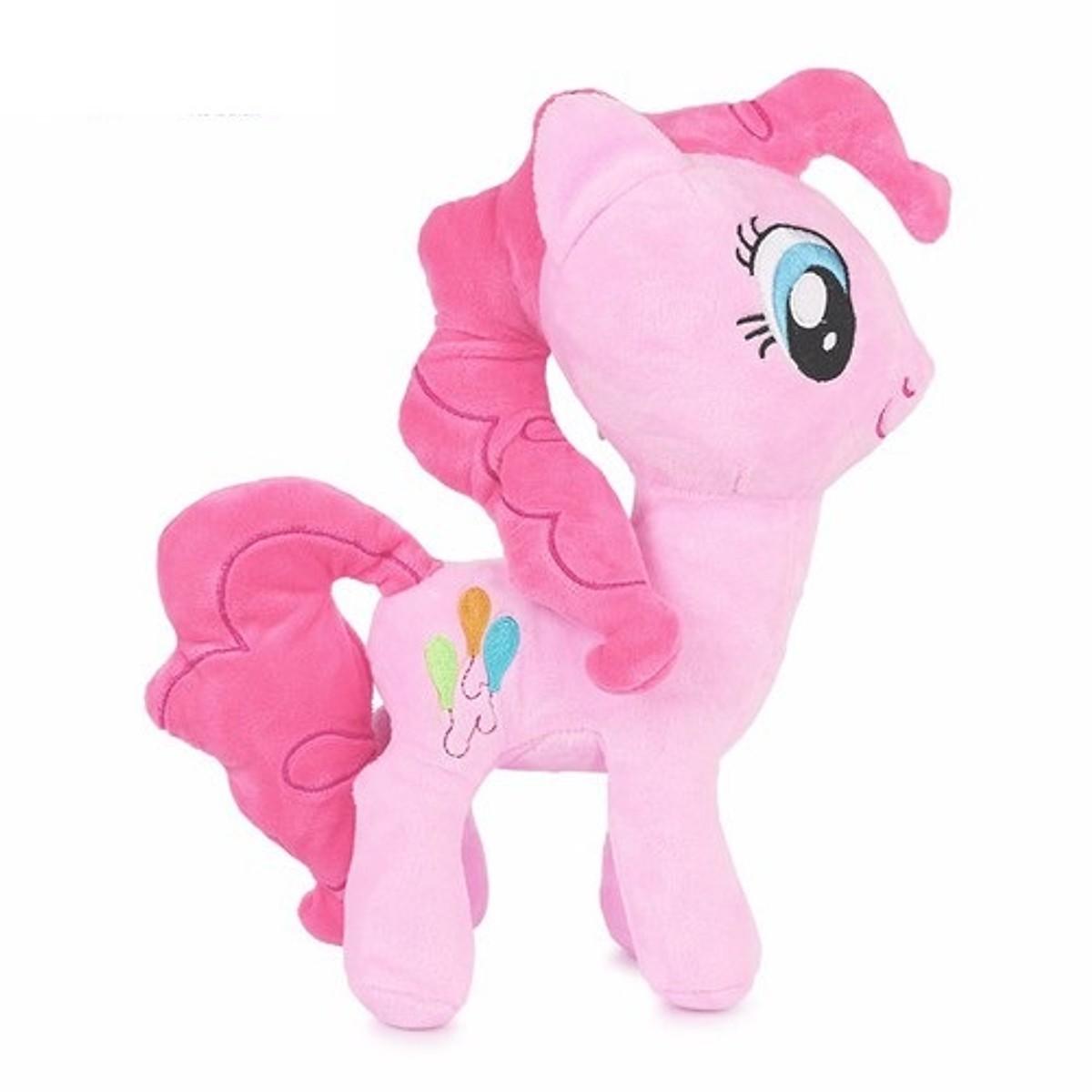 Gấu bông ngựa Pony hông nhồi bông đáng yêu size 30cm