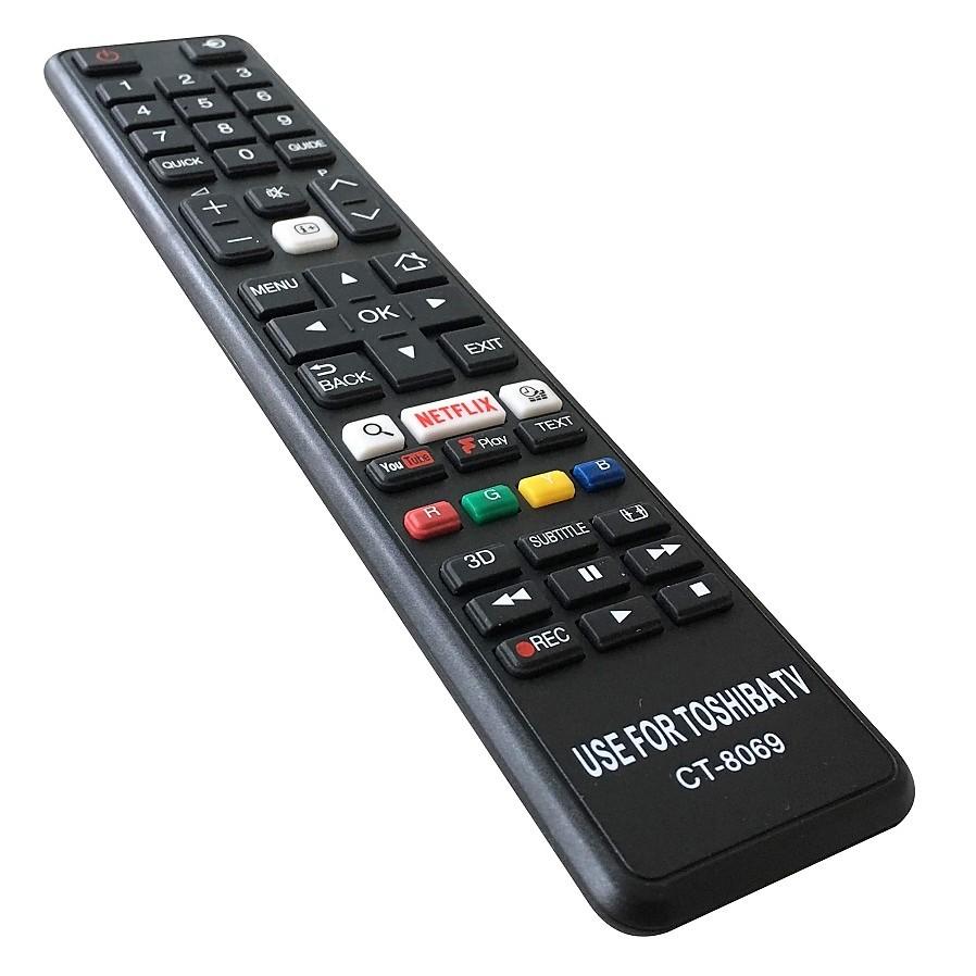 Remote Điều Khiển Dùng Cho Smart TV, TV LED Toshiba CT-8069