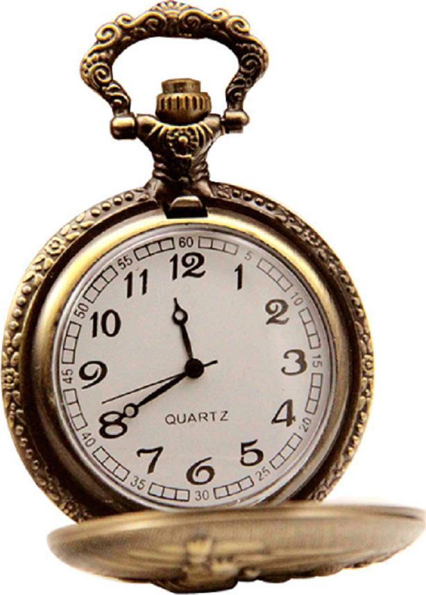 Đồng hồ quả quýt dây chuyền 3D 12 con giáp SỬU - DH13 SIZE LỚN