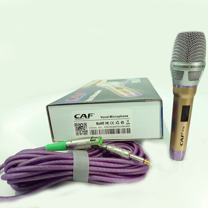 Micro karaoke có dây cao cấp CAFP10