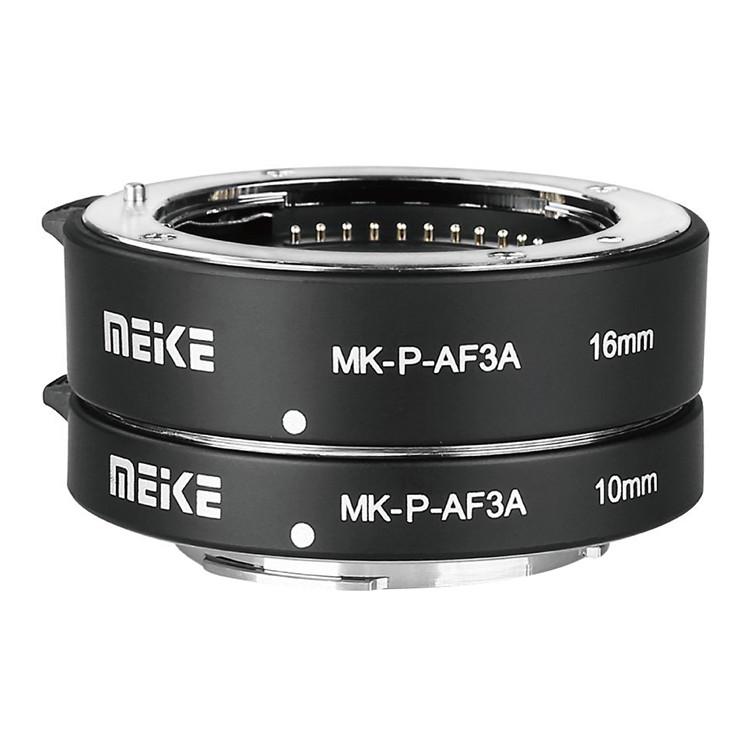 Ngàm Chụp Macro Meike MK-P-AF3A Auto Focus Extension Tube 10mm 16mm Cho Panasonic - Hàng Nhập Khẩu
