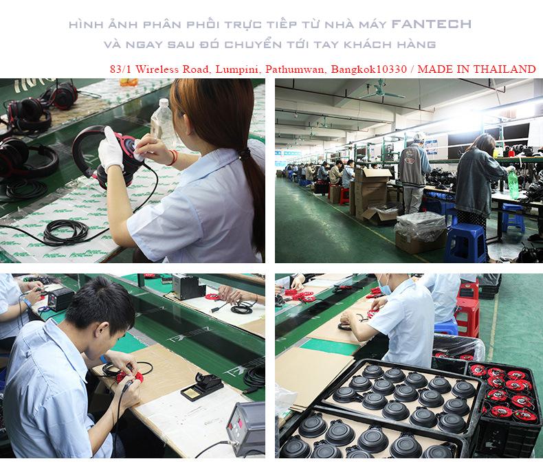Tai Nghe Chụp Tai Youtuber Fantech kINERA  - Hàng Chính Hãng