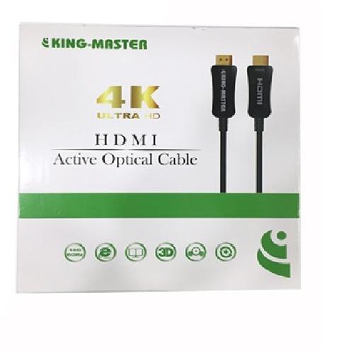 Cable HDMI Kingmaster 2.0 ( 10m) Active Optical KH 254, CÁP HDMI CÁP QUANG CHUẨN 2.0-HÀNG CHÍNH HÃNG