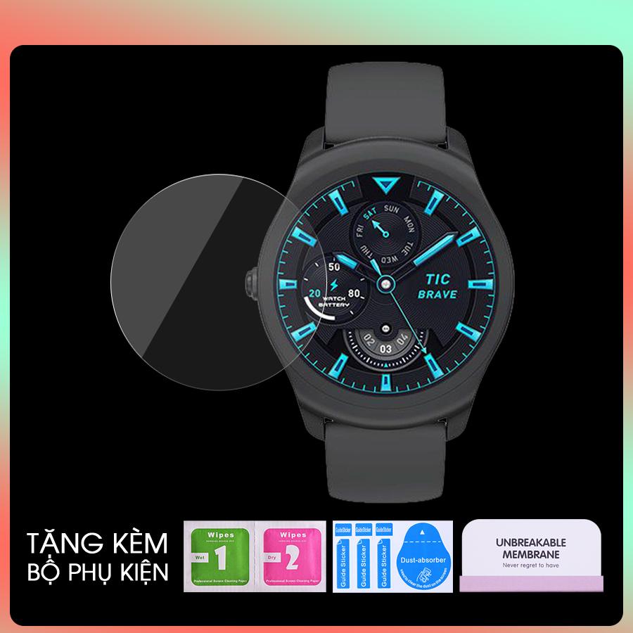 Miếng Dán PPF Màn Hình Dành Cho Đồng Hồ Ticwatch 2, 2 Classic, S2, Pro 3- Hàng Chính Hãng