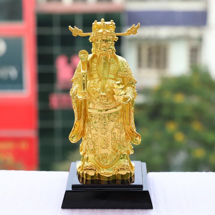 Tượng ông Thần Tài mạ vàng