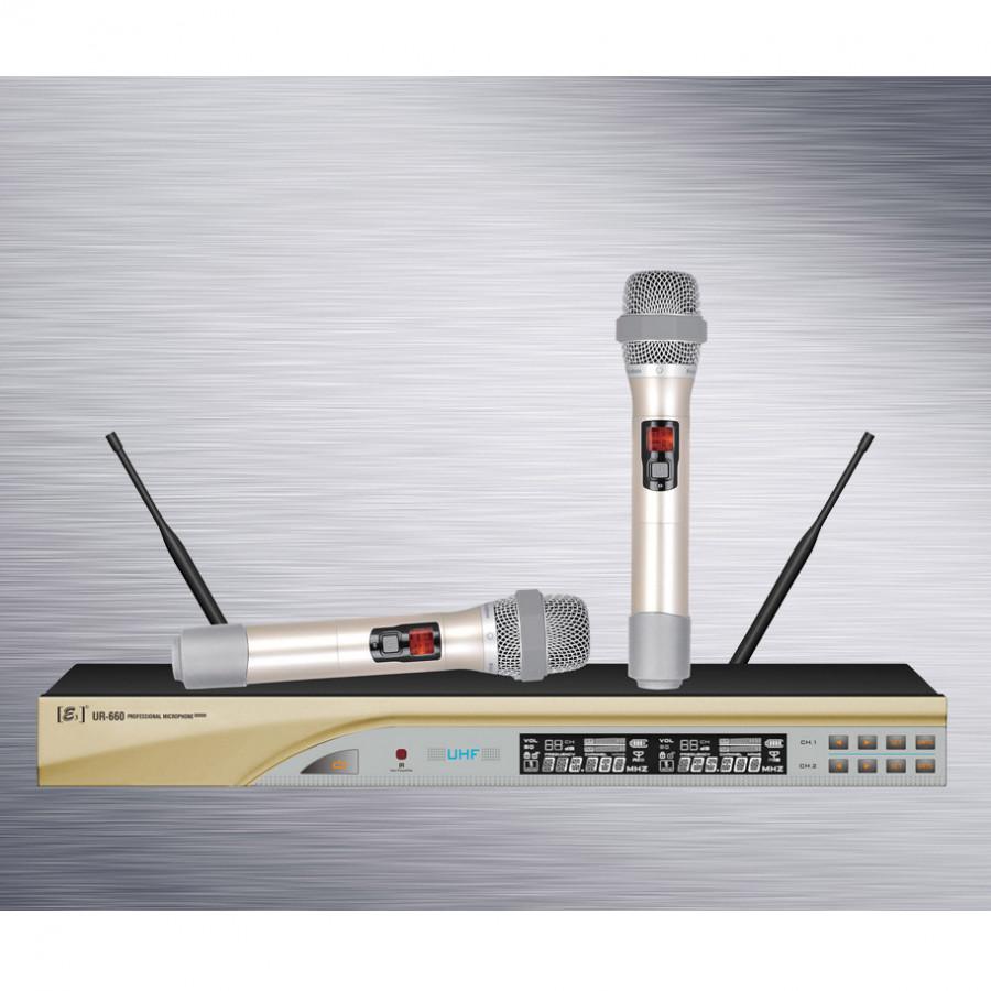 Micro Karaoke E3 UR-660 (Hàng chính hãng)