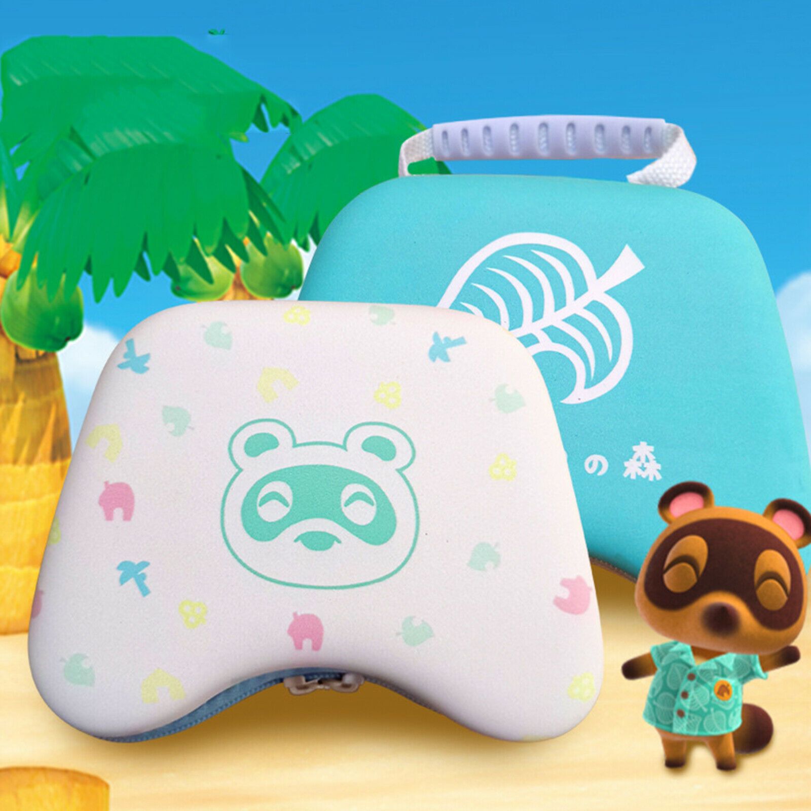 Bao đựng cho tay cầm PS4 Xbox One Pro Controller Switch mẫu Animal Crossing