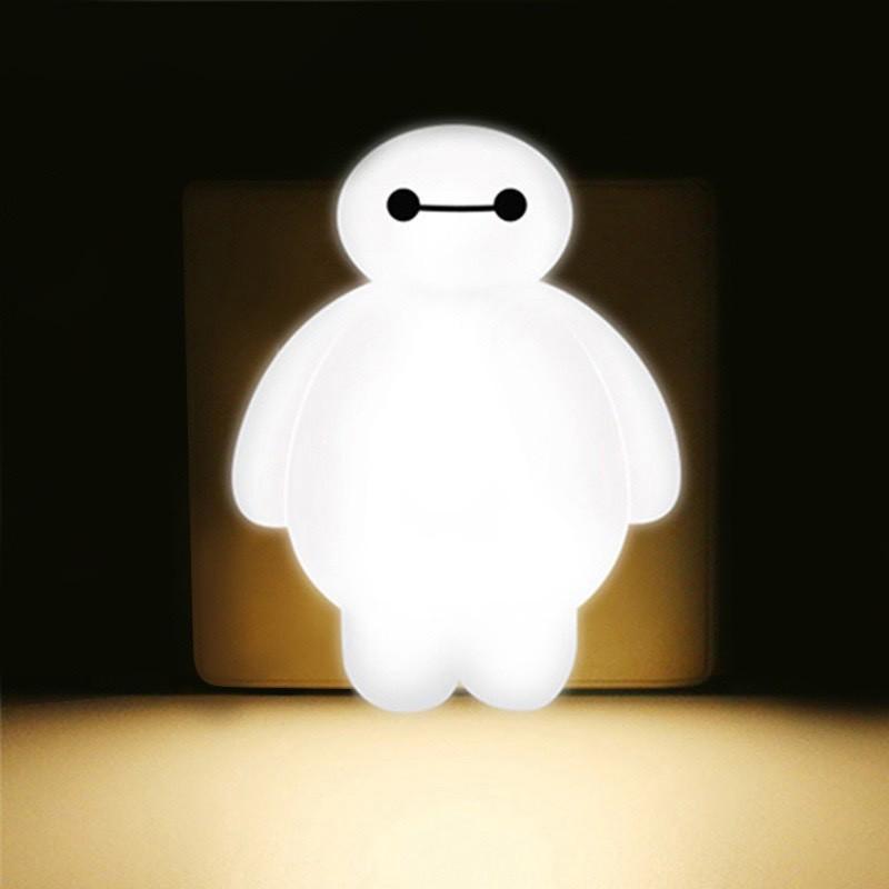 Đèn ngủ hình Baymax hoạt hình tiết kiệm điện