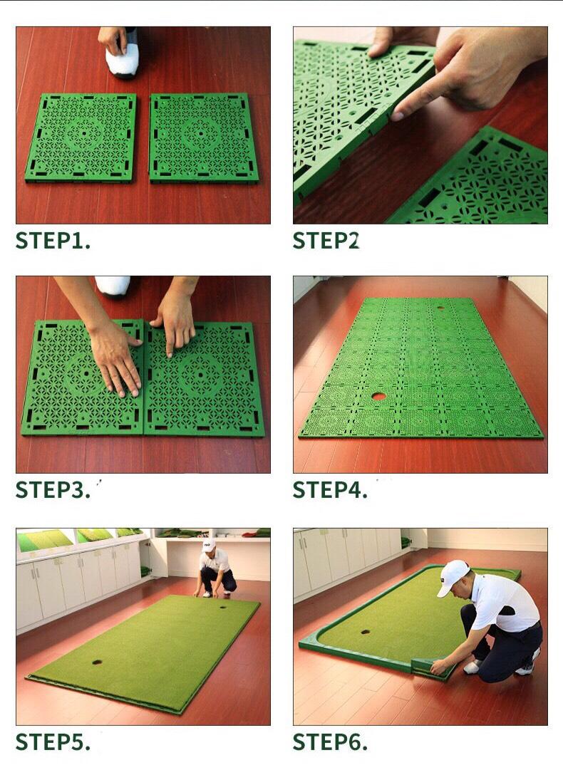 Thảm tâp Putting Golf di động GL017