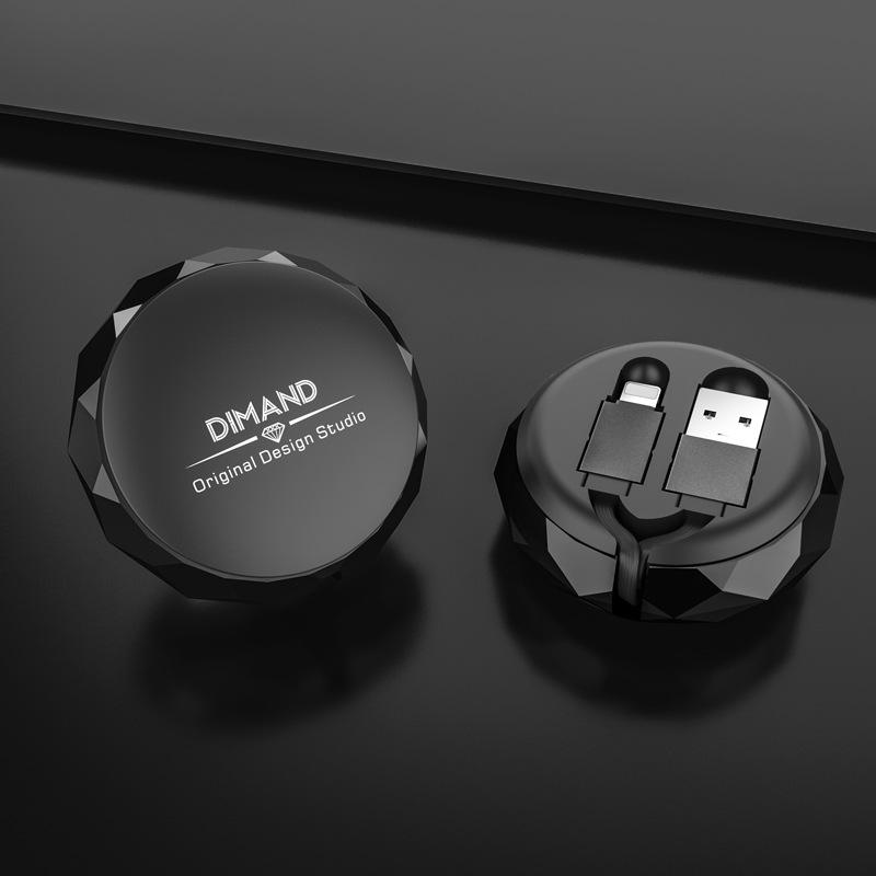Cáp Sạc Rút Thông Minh Micro USB - Hàng Nhập Khẩu