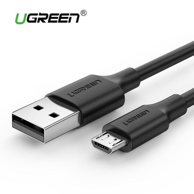 Cáp Sạc Nhanh Micro USB 2.4A UGREEN 60137 Dài 1.5M - Hàng Chính Hãng