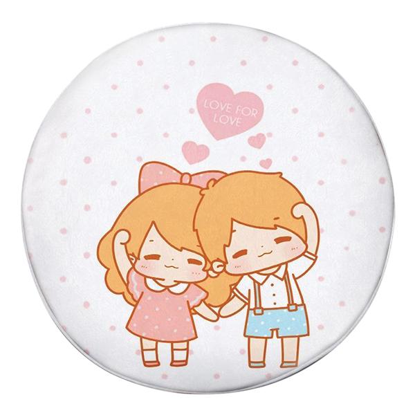 Gối Ôm Tròn Love For Love GOCP057