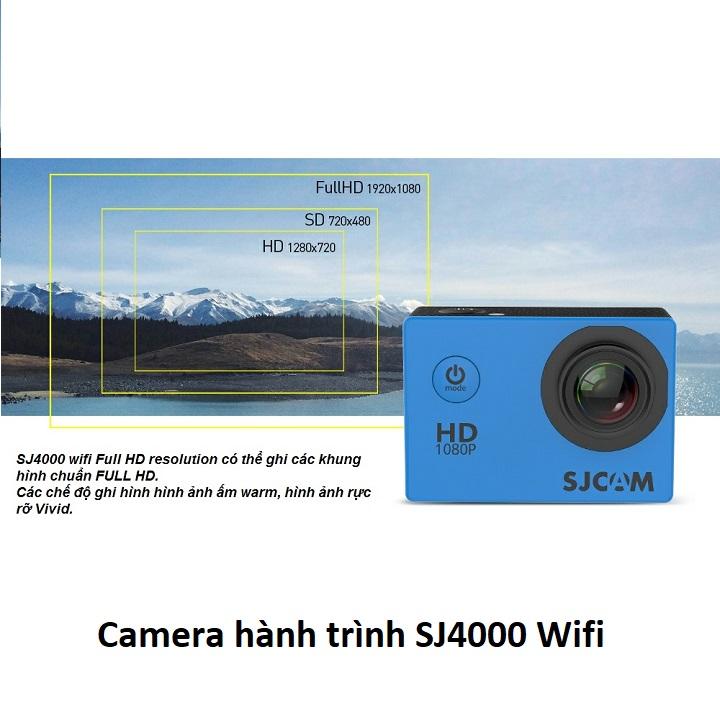 Camera hành trình sjcam sj4000 wifi- hàng chính hãng