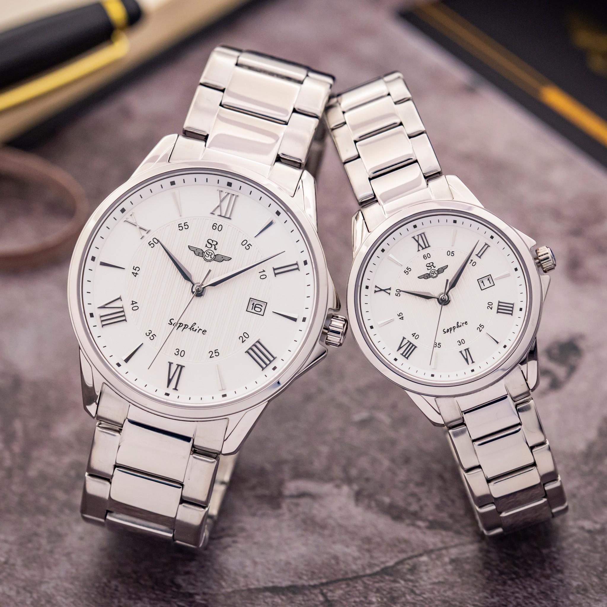 Đồng hồ Cặp dây thép không gỉ SRWATCH SG3006.1102CV-SL3006.1102CV