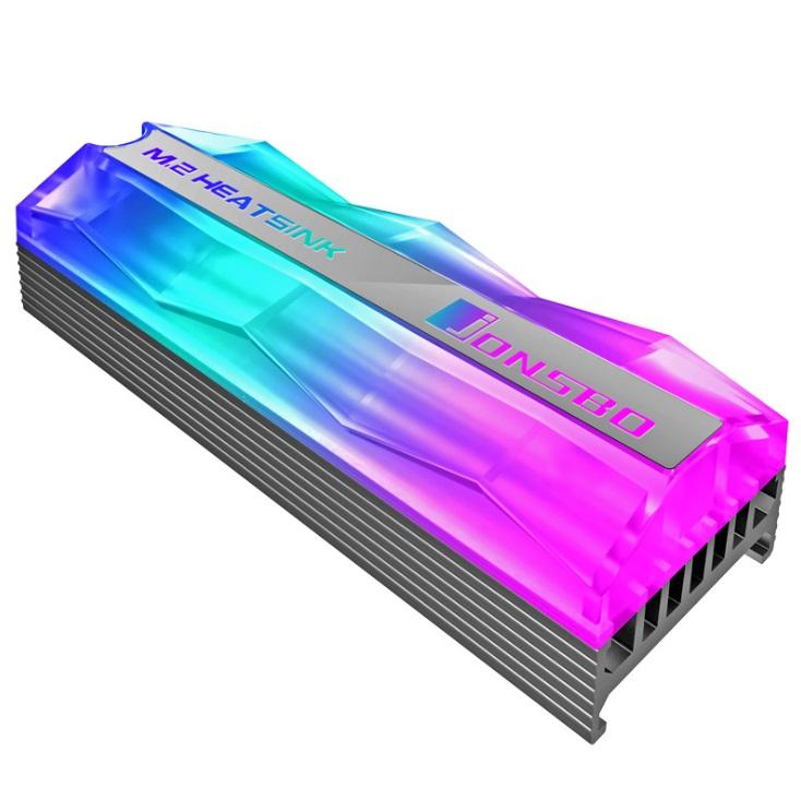 Tản nhiệt SSD M2 Jonsbo Led RGB - Hàng nhập khẩu