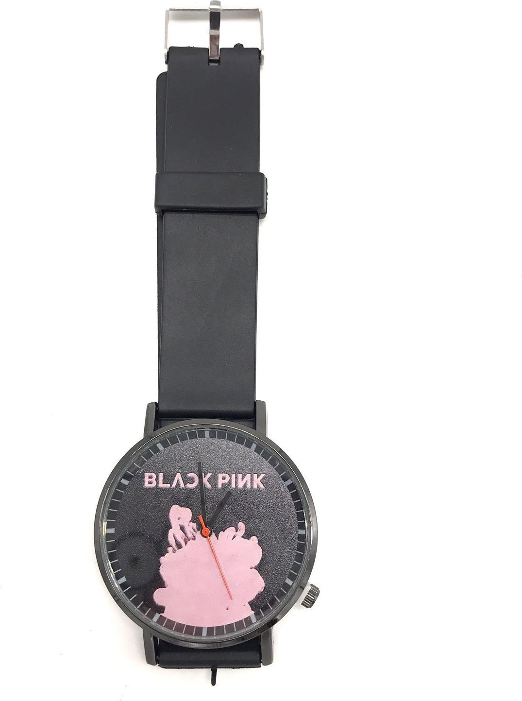 Đồng Hồ Đeo Tay Black Pink ST1