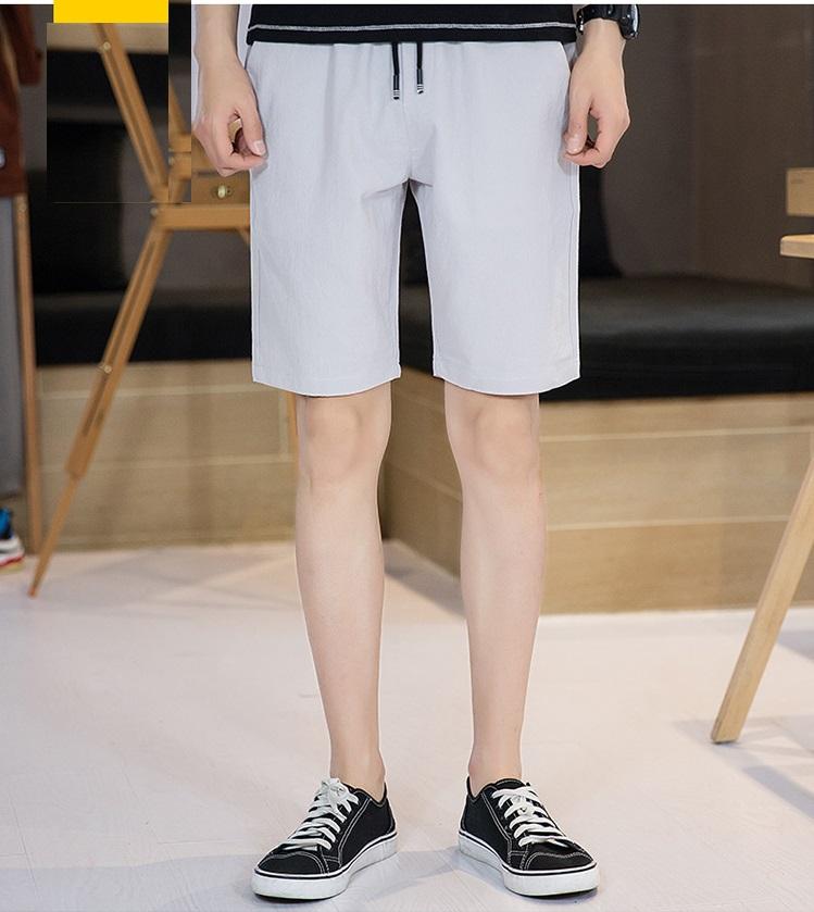 Quần đũi short cao cấp thời trang nam Đũi Việt DV02