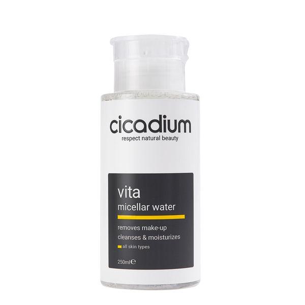 Nước tẩy trang làm sạch sâu Cicadium Vita Micellar Water 250ml