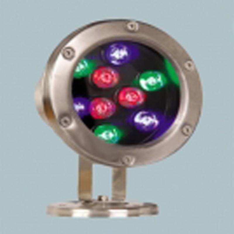 Đèn âm nước 9w có đế đổi màu