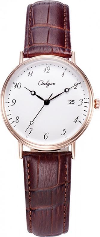 Đồng hồ Onlyou Nữ 81120LB Dây Da 30mm