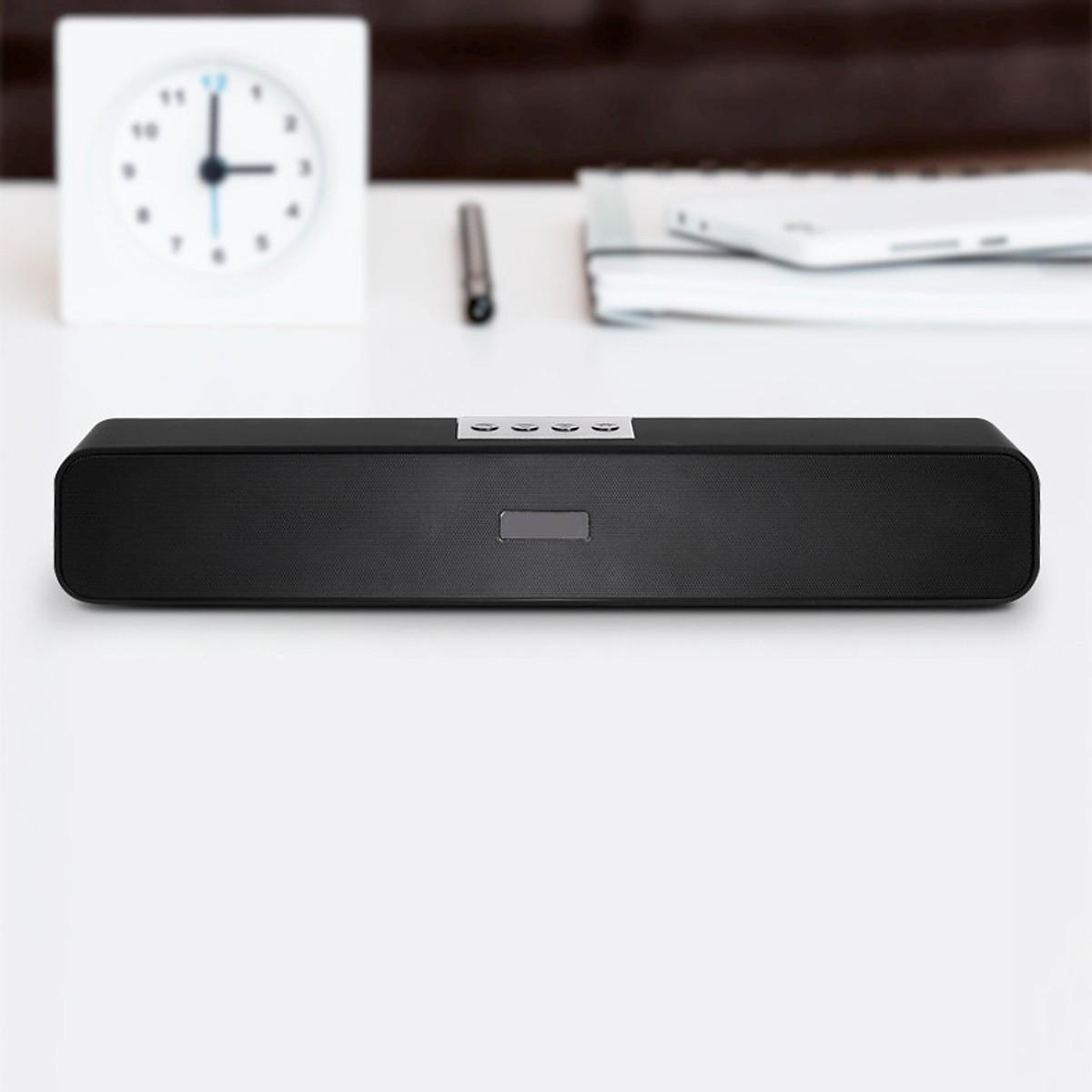 Loa Thanh Soundbar 2.2 Bluetooth Music-F E91 10W, Pin Dung Lượng Lớn, Âm Thanh Sống Động, Hỗ Trợ Thẻ Nhớ,USB, Jack 3.5