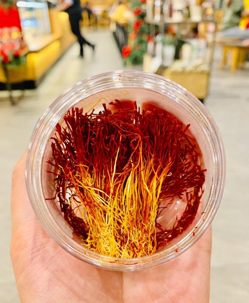 Nhụy hoa nghệ tây nguyên bản Saffron Original 3gram