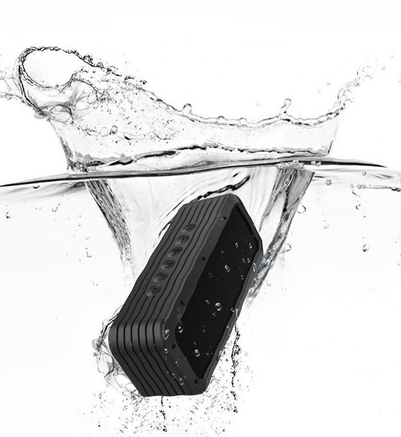Loa Bluetooth 40W công suất lớn Super Bass chống nước IPX7 pin 6600MAH sạc nhanh Type C công nghệ AI Hàng Chính Hãng PKCB06