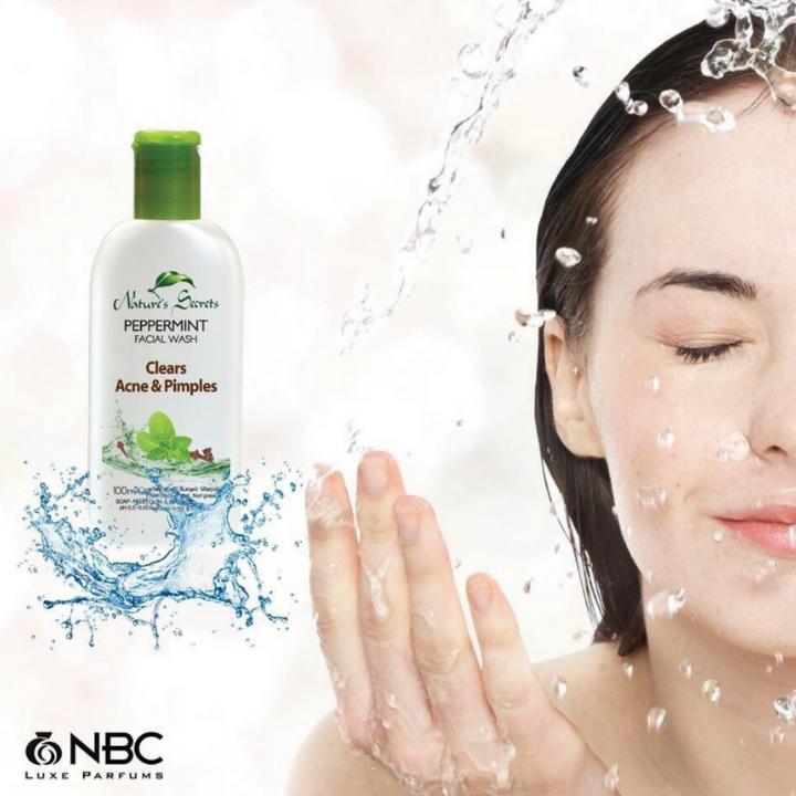 Sữa rửa mặt kháng viêm giảm mụn Peppermint Facial Wash 100ml 3