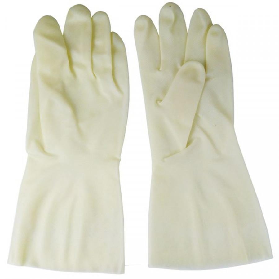 Đôi găng tay cao su cao cấp siêu dai, đàn hồi tốt, tránh hóa chất, chống hao mòn, vật sắc nhọn