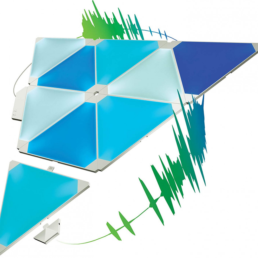 Đèn thông minh Nanoleaf Canvas Smart Kit - 9 Miếng