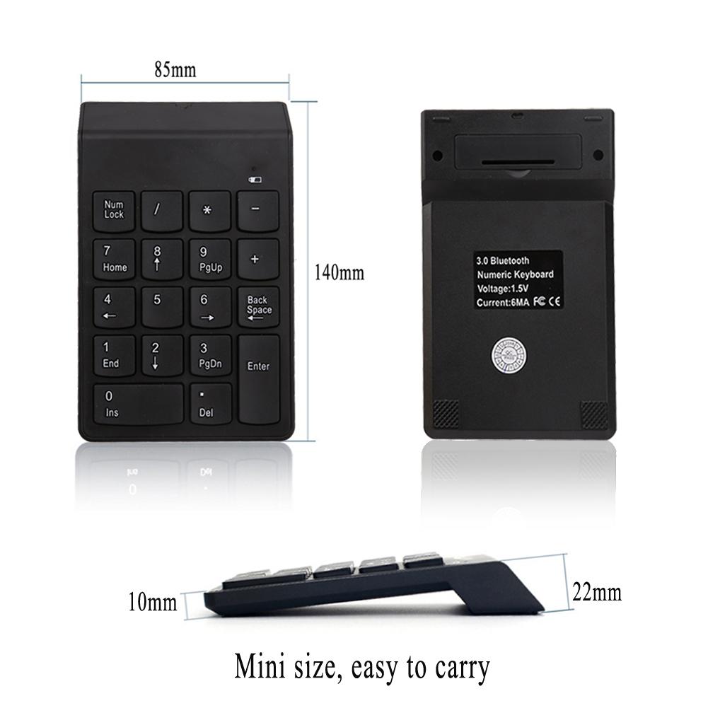 Bàn phím số không dây Mini Number Keyboard AZONE