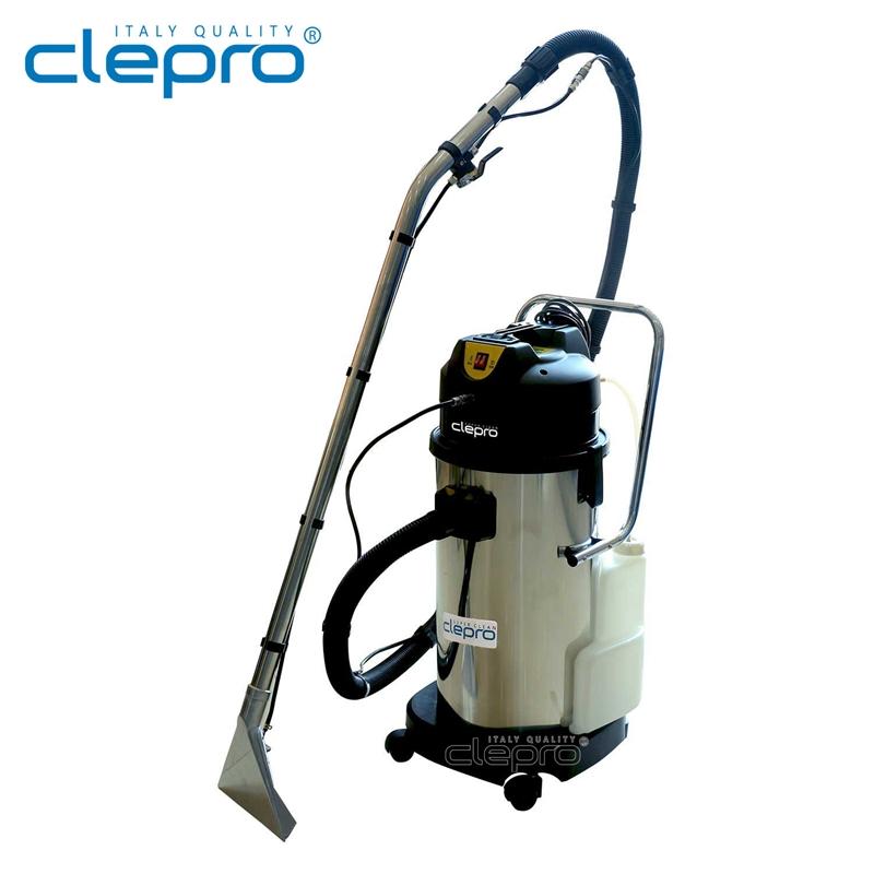 Máy giặt thảm phun hút, vệ sinh thảm - ghế sofa CLEPRO C1/40 (thêm phụ kiện hút bụi) - Hàng chính hãng