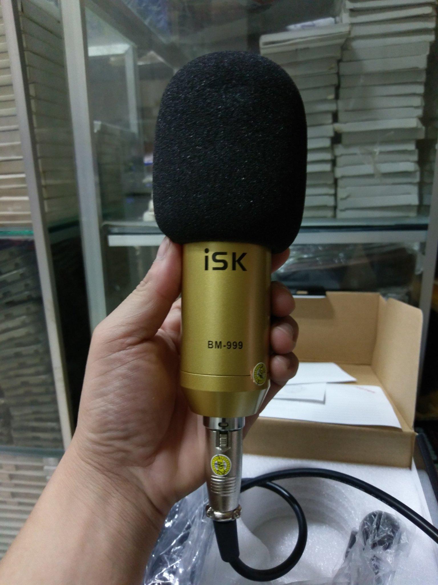 Micro thu âm ISK BM-999 cao cấp - Hàng nhập khẩu