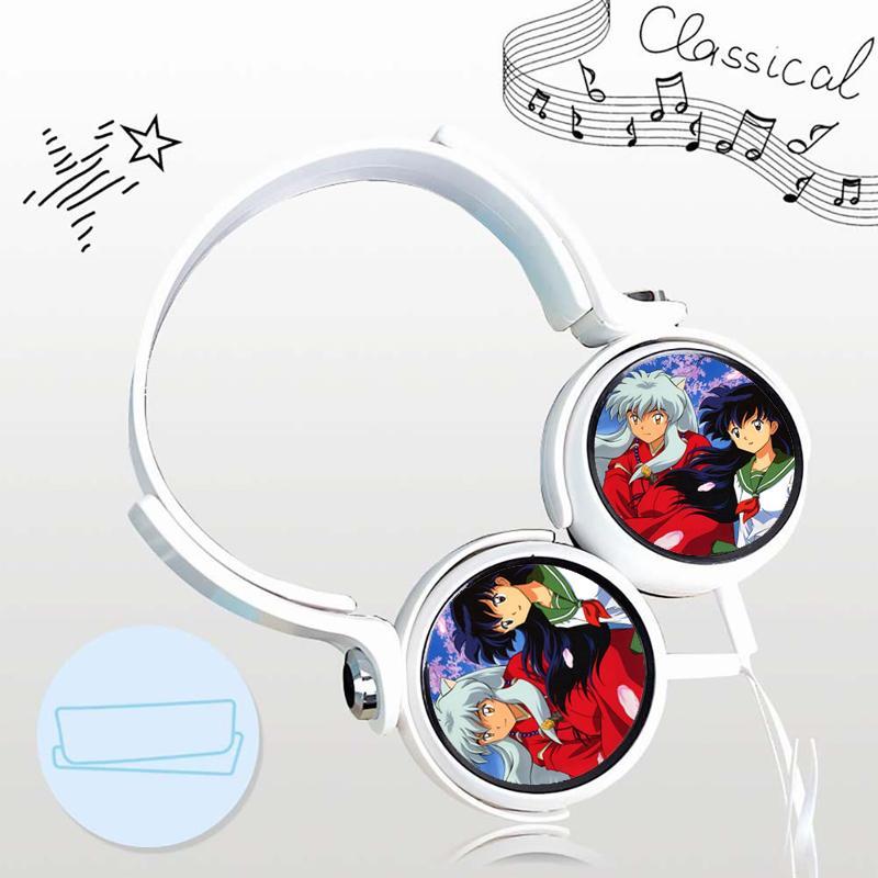 Tai nghe Khuyển dạ xoa Inuyasha  thiết kế thông minh cá tính cắm dây có mic