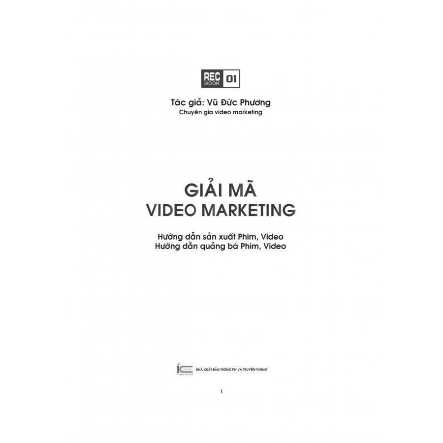 Giải Mã Video Marketing - Vũ Đức Phương