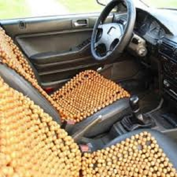 Lót ghế ô tô hạt gỗ cao cấp