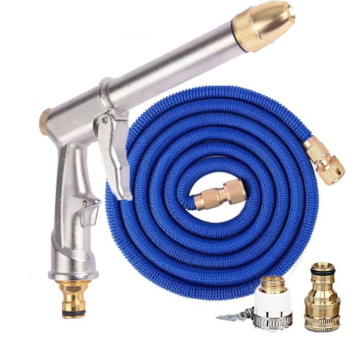 Vòi phun nước rửa xe tưới cây tăng áp thông minh giãn nở khi sử dụng 810709
