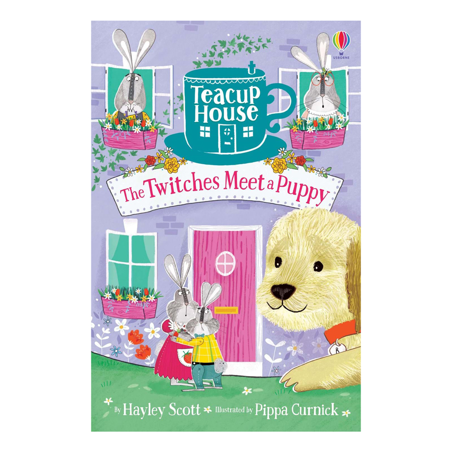 Usborne Teacup House: The Twitches Meet a Puppy