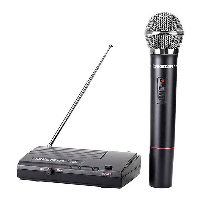Micro Không Dây TAKSTAR TS-331H Chính hãng. Bộ 01 micro cầm tay . Gọn nhẹ, tiết kiệm và an toàn điện. Chuyên dùng ca hát giảng dạy hội thảo.