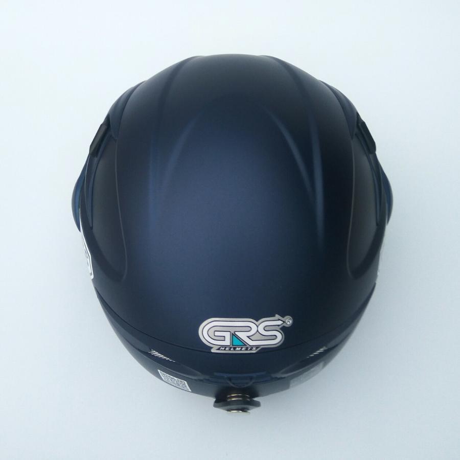Mũ bảo hiểm nửa đầu GRS A966K - 2 Lớp kính - Tháo được lót