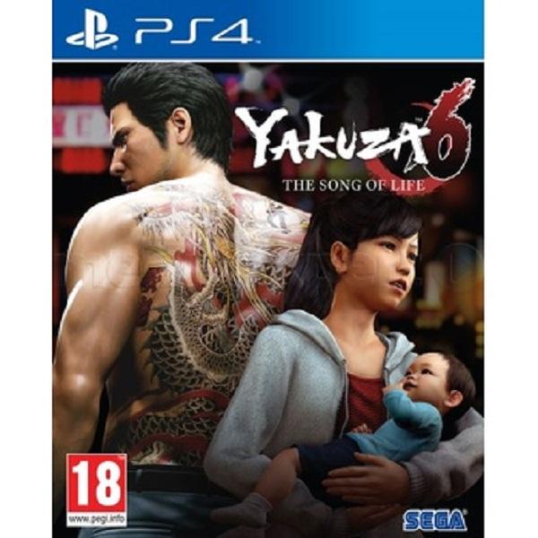 Đĩa Game Ps4: Yakuza 6-The Song Of Life - Hàng Nhập Khẩu