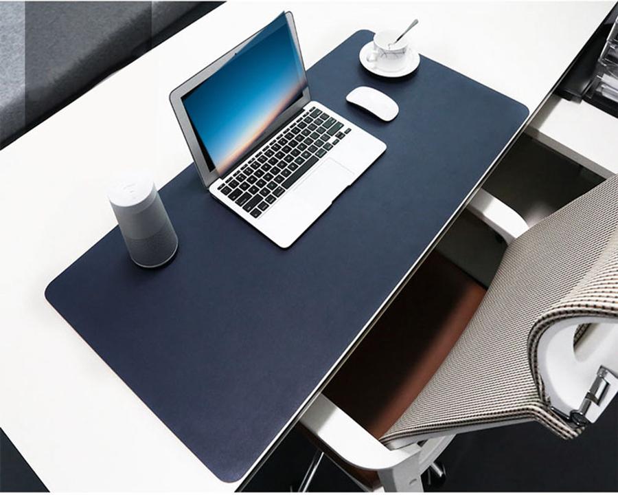 Tấm da PU để bàn máy tính bản to , nhỏ