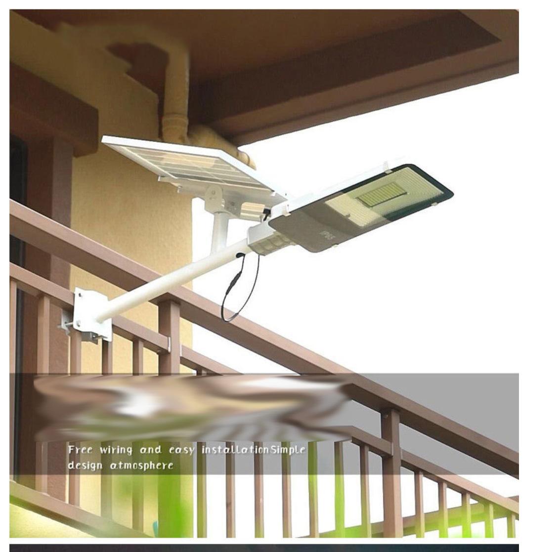 Đèn led năng lượng mặt trời 200W-300Led