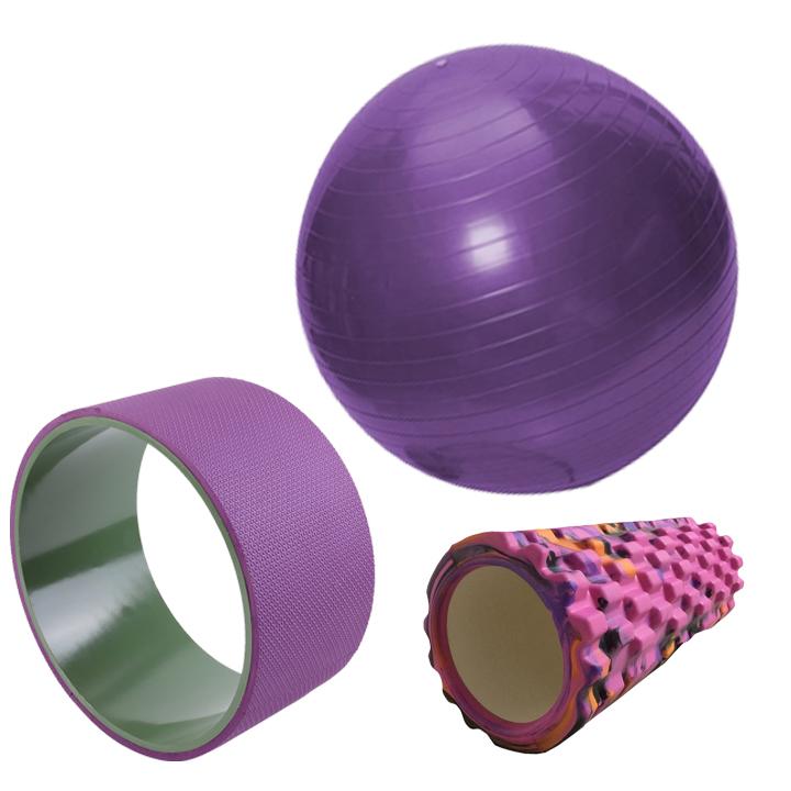Combo Bóng tập yoga 65cm trơn  Con lăn yoga  Vòng tập Eco Sportslink - Tím - 24226121 , 1113007977882 , 62_2438333 , 1055000 , Combo-Bong-tap-yoga-65cm-tron-Con-lan-yoga-Vong-tap-Eco-Sportslink-Tim-62_2438333 , tiki.vn , Combo Bóng tập yoga 65cm trơn  Con lăn yoga  Vòng tập Eco Sportslink - Tím
