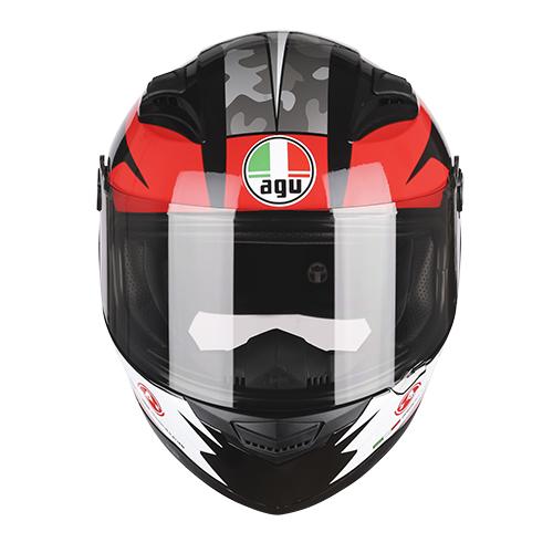 Nón bảo hiểm fullface AGU 138 - 76 ĐỎ