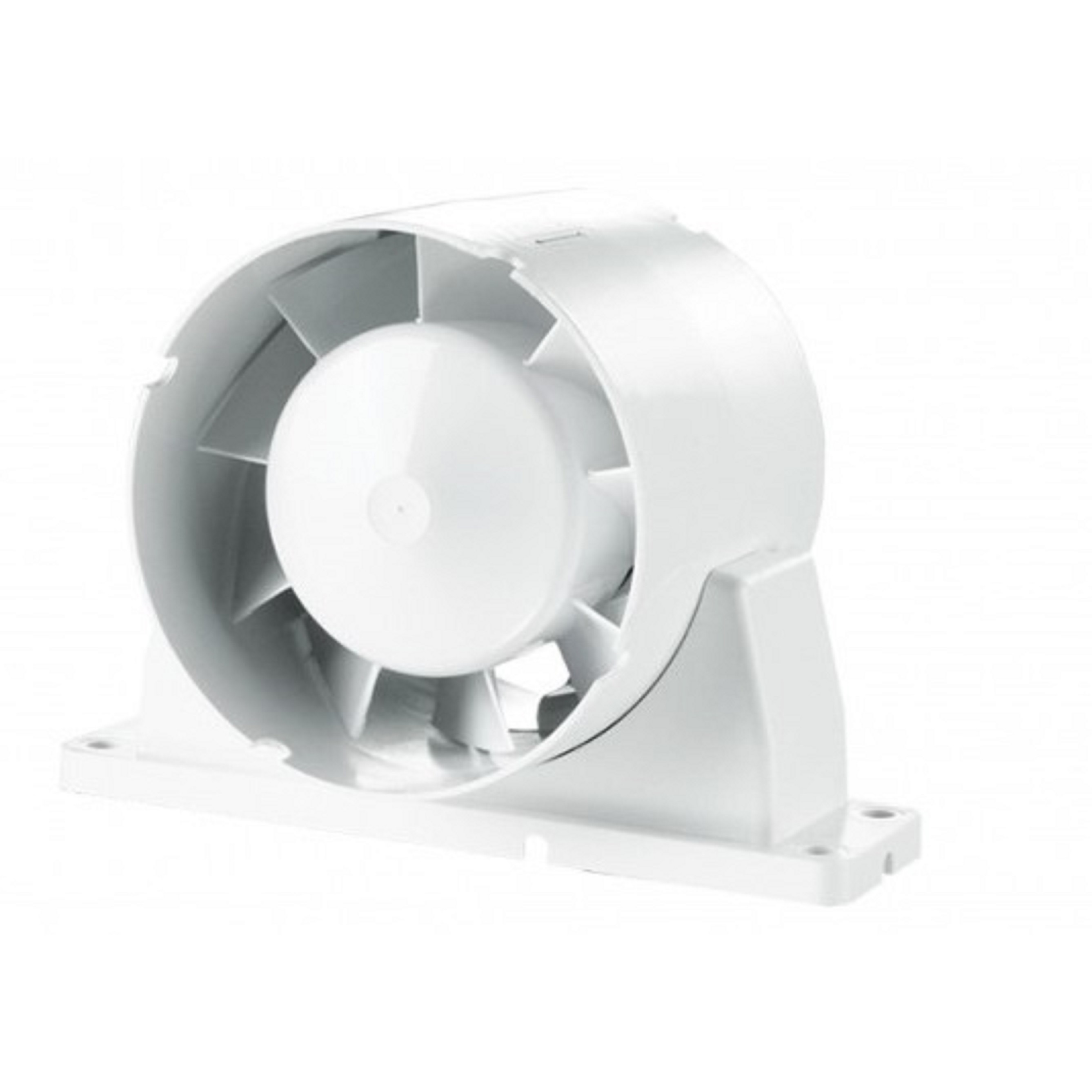 Quạt HT gắn ống gió - có chân đế - Tubo-U 125- Hàng nhập khẩu