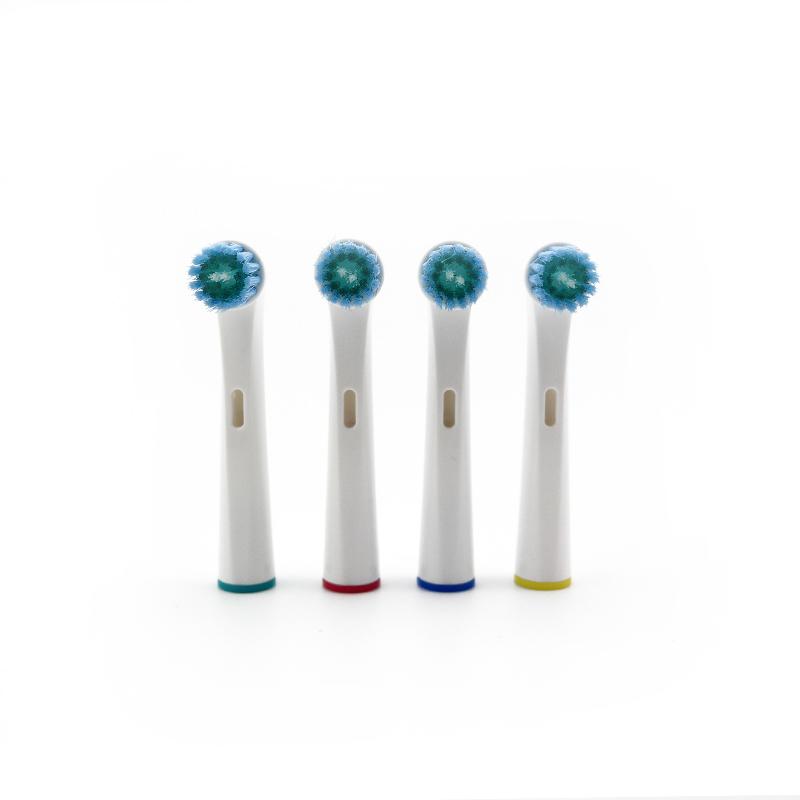 Bộ 4 đầu bàn chải đánh răng  điện - cho máy Braun Oral B – Làm sạch nướu, hết viêm nha chu – Tác động kép – Xuất xứ: Anh