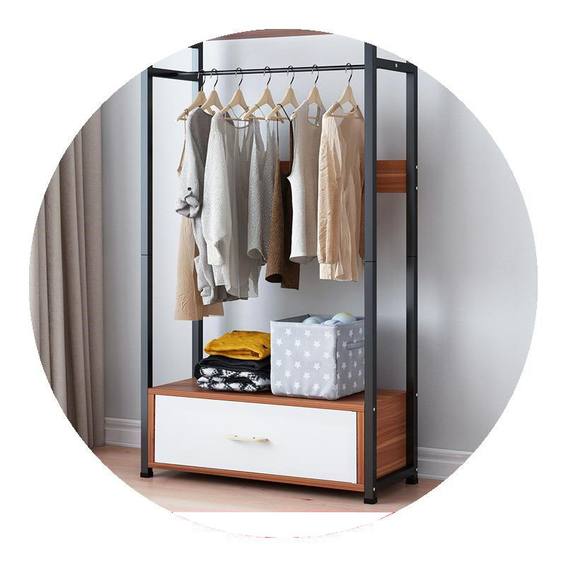 tủ quần áo mặt gỗ khung thép tĩnh điện cao cấp giao màu ngẫu nhiên D0639
