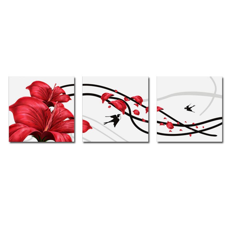 Tranh Hoa Treo Phòng Khách Q6D12-HH00204 Size 50 x 50 cm