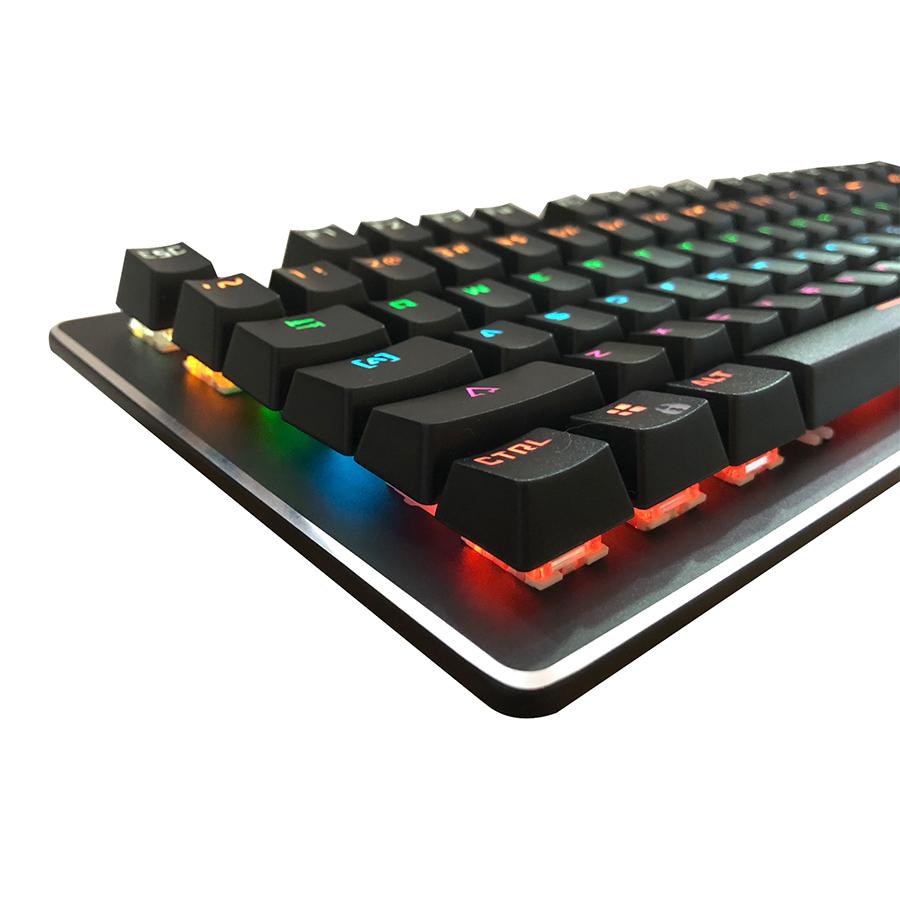 Bàn Phím Cơ Bosston MK916-LED RGB - Hàng Chính Hãng